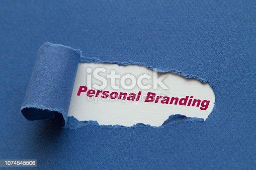 874270826 istock photo Personal Branding 1074545506
