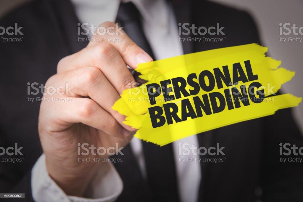 Personal Branding - foto stock