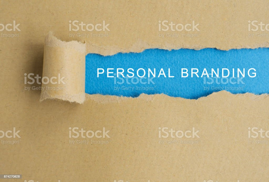 Marca pessoal - foto de acervo