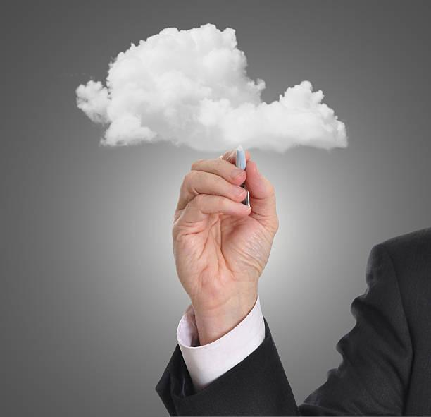 Persönliche cloud-Netzwerk – Foto