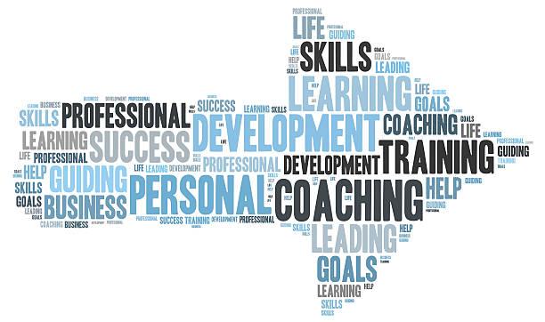 Persönliche coaching-word cloud – Foto