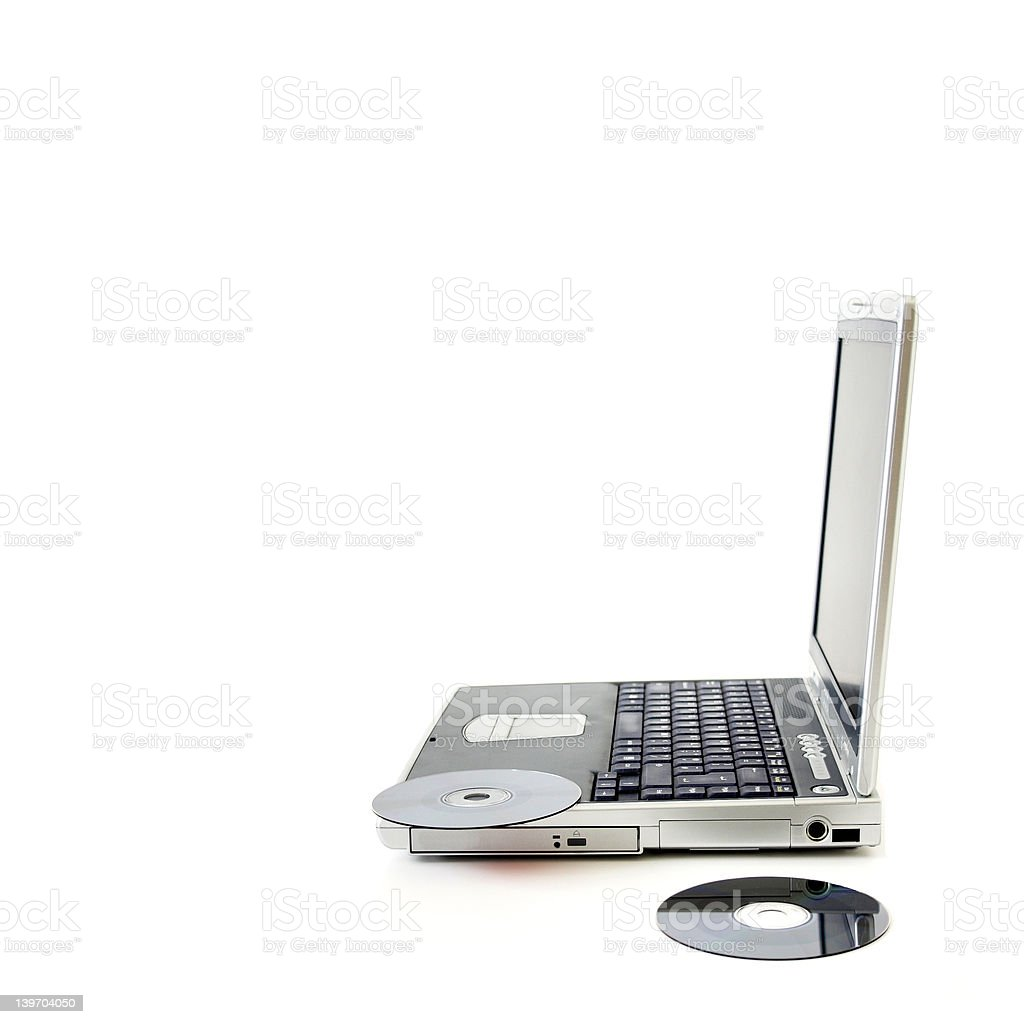 Personal computer royalty-free stock photo
