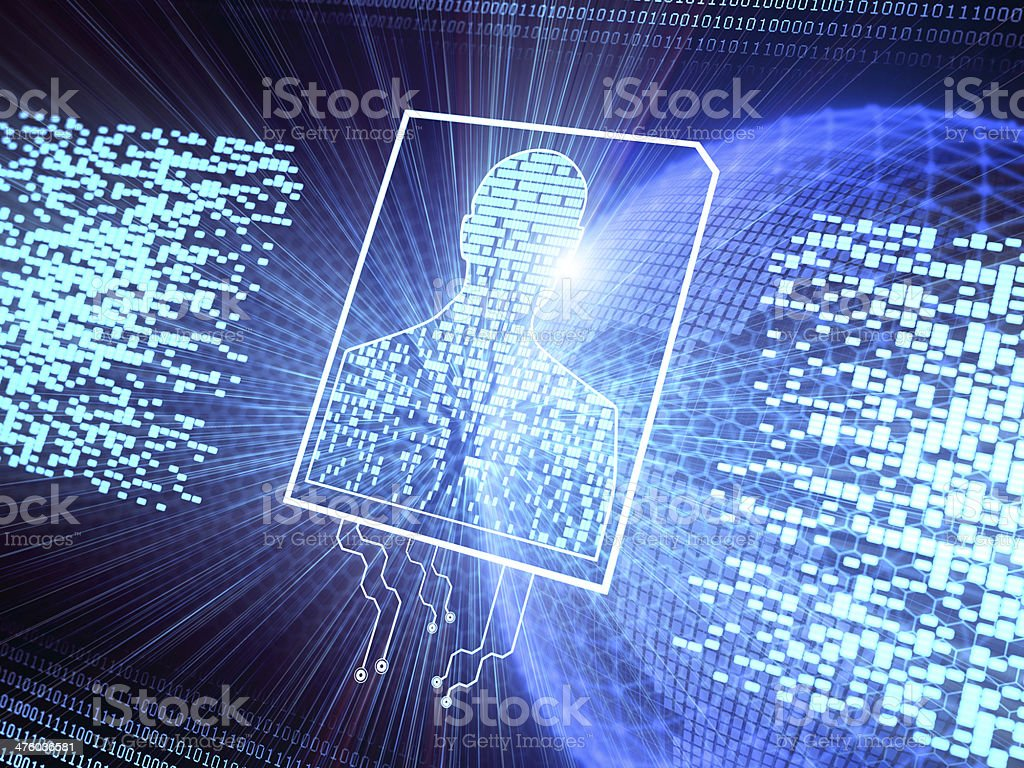 Personal Cyber Security stock photo