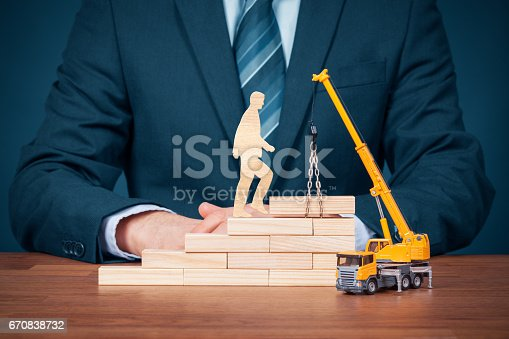 istock Personal development and career build 670838732