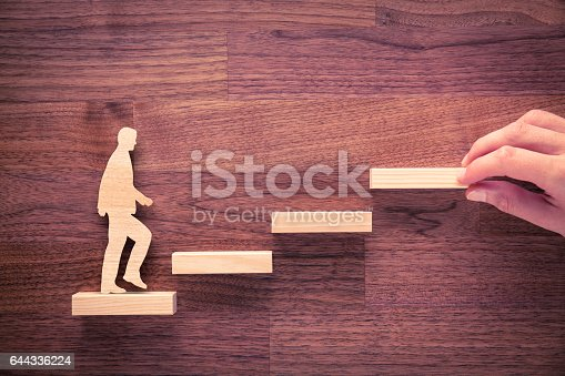 istock Personal development and career growth 644336224