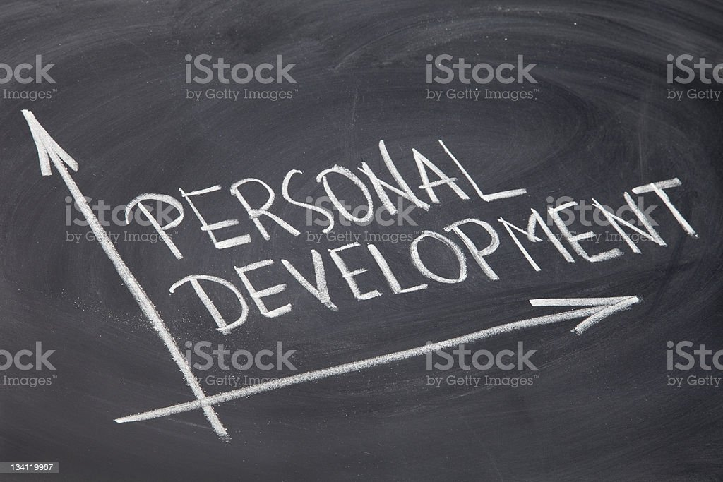 personal development royalty-free stock photo
