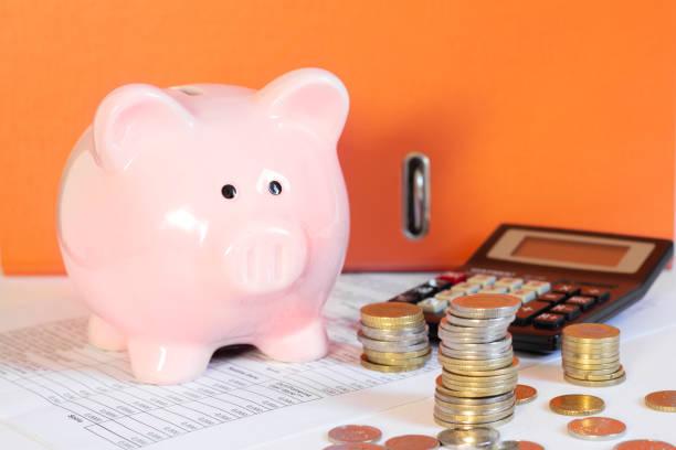 persönliche Finanzen und Einsparungen-Konzept – Foto