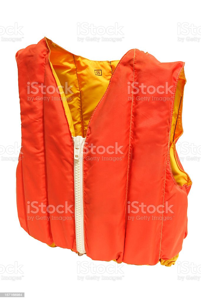 personal floatation device royalty-free stock photo