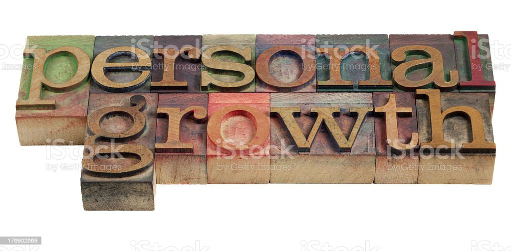 personal growth royalty-free stock photo