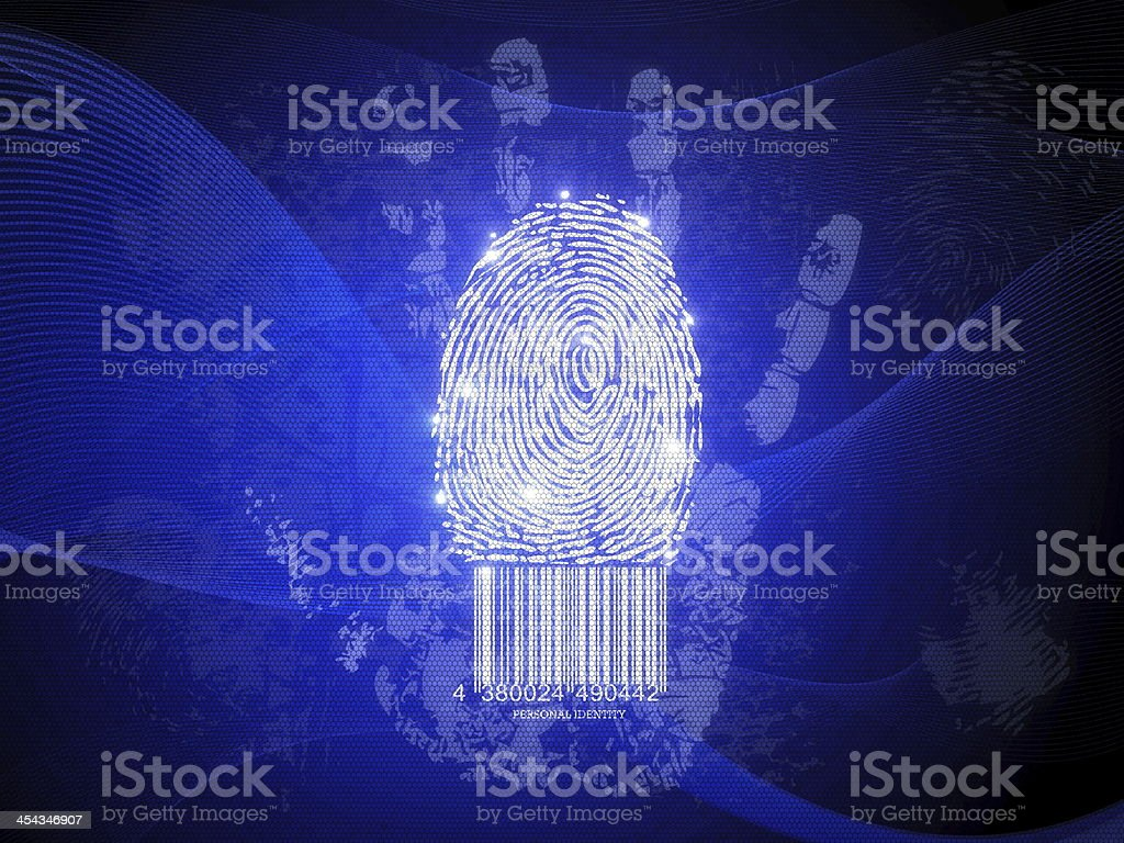 Personal identity royalty-free stock photo