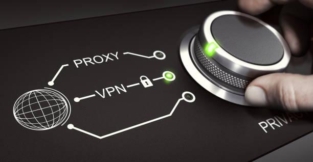vpn, personliga online-säkerhet, virtuellt privat nätverk - vpn bildbanksfoton och bilder