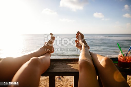 910785546 istock photo Personal perspective of women relaxing 1014251892