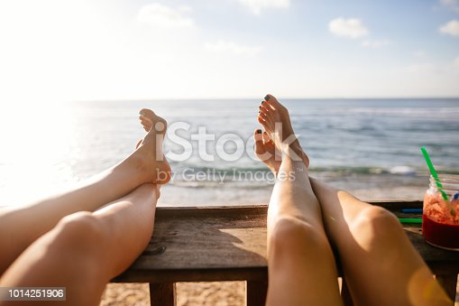 910785546 istock photo Personal perspective of women relaxing 1014251906