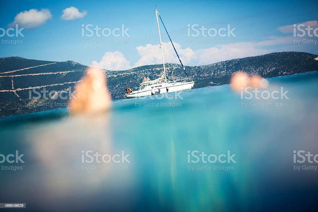 Personal Perspective On Summer Vacations stock photo