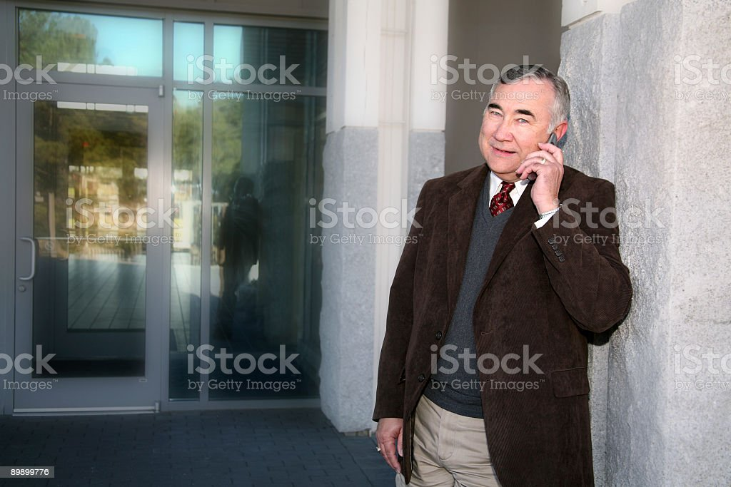 Personal Phone Call royalty-free stock photo
