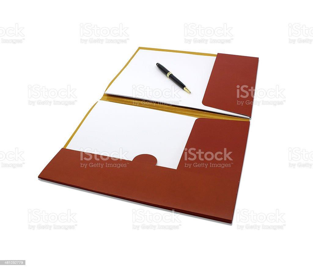パーソナルプランナー、ブランクページ ストックフォト