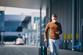 istock Personal protection during traveling 1225375600
