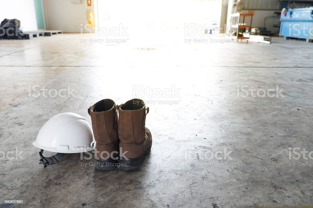 Personal Protective Equipment . Includes white hard hat, safety shoe...