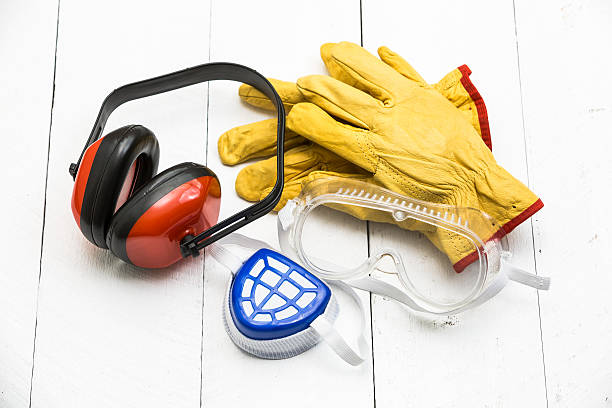 Personal protective equipment stock photo