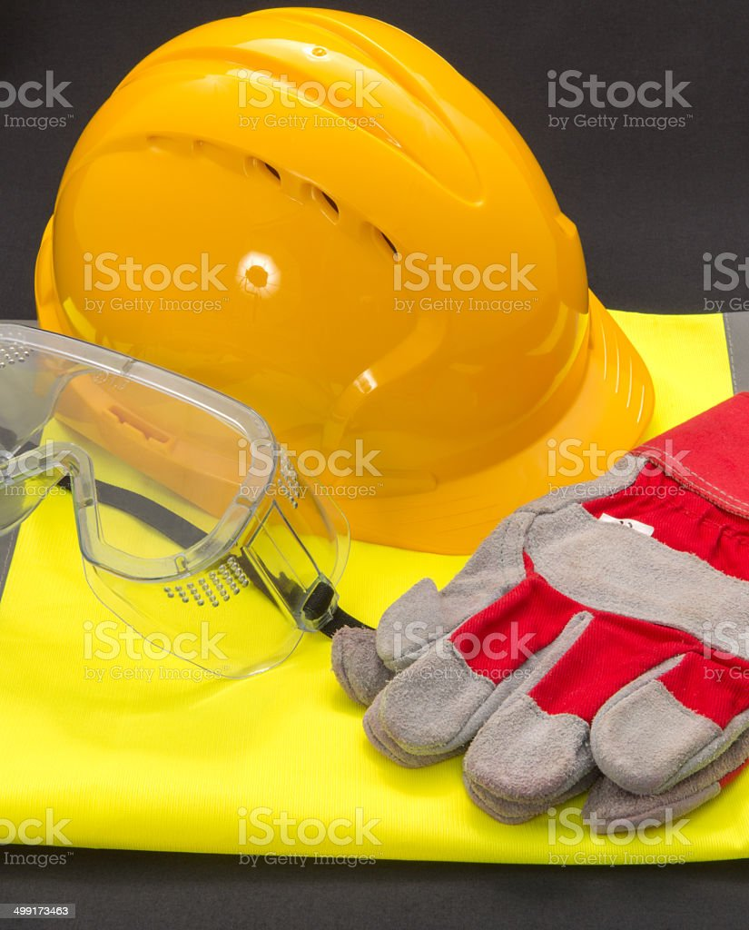Safety equipment used to protect workers/visitors. Consisting of a...