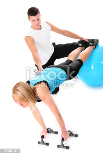 istock Personal trainer 160051322