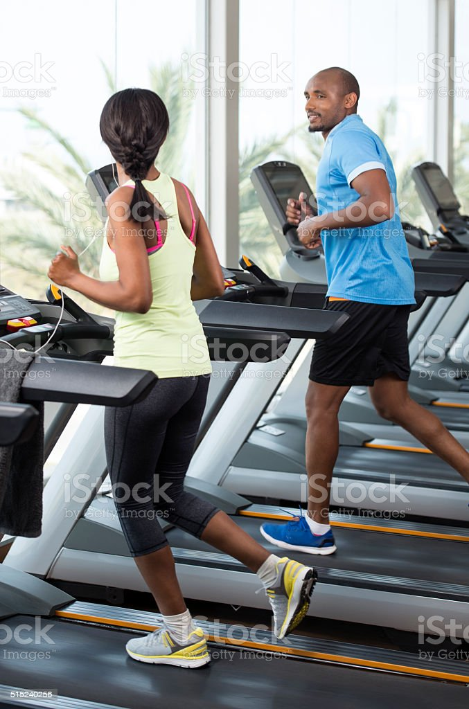 Personal training. stock photo