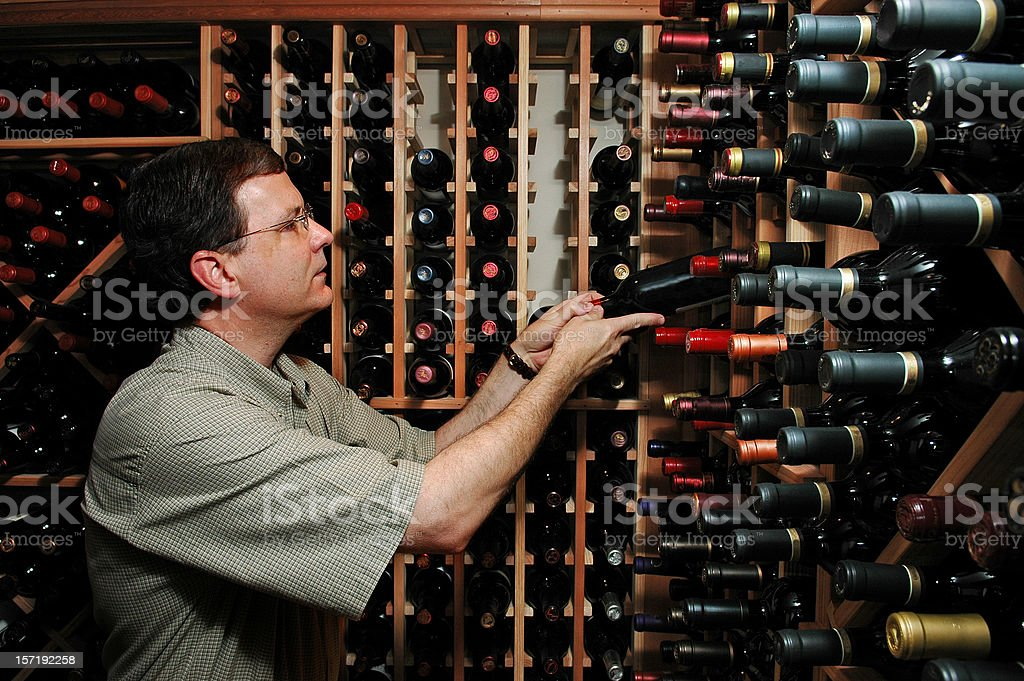 Personal Wine Cellar royalty-free stock photo