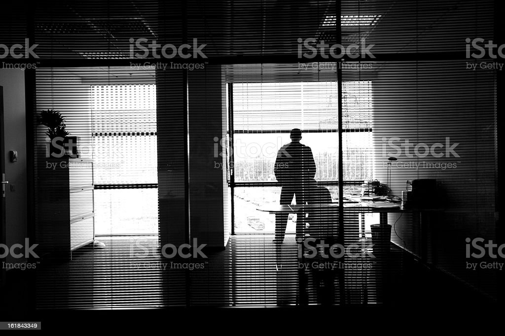 Personal working office room. royalty-free stock photo