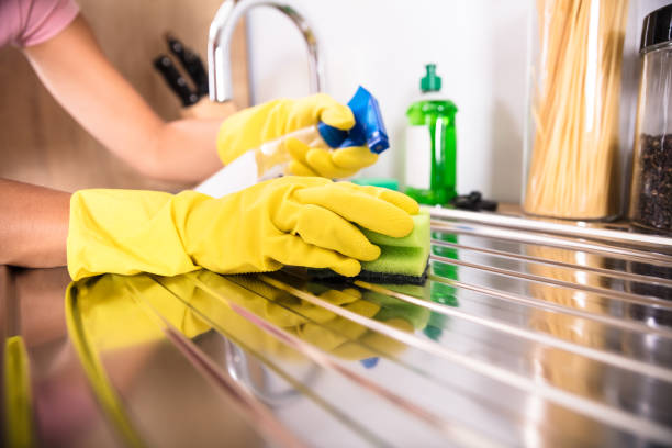 person's hand cleaning stainless steel sink - clean stock pictures, royalty-free photos & images