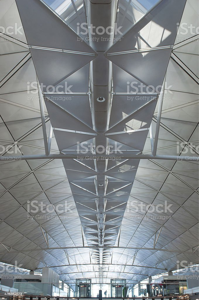 Perspective building dome royalty-free stock photo
