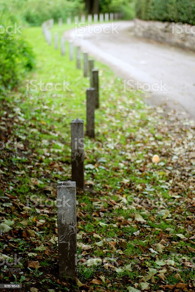 Perspective curves royalty-free stock photo