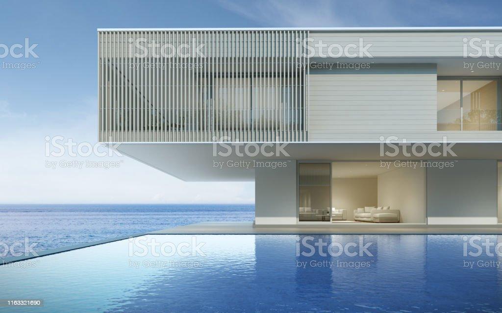 Perspectiva Del Edificio De Lujo Moderno Con Terraza De