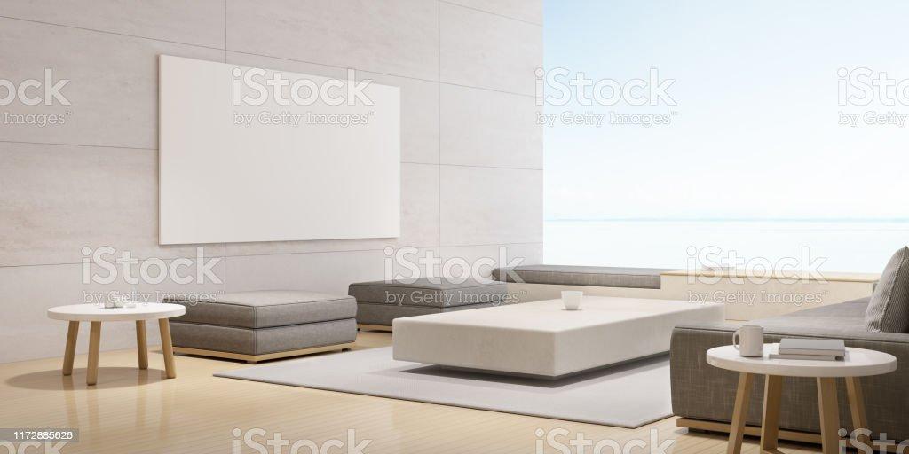 Photo libre de droit de Perspective Du Salon De Luxe Moderne ...