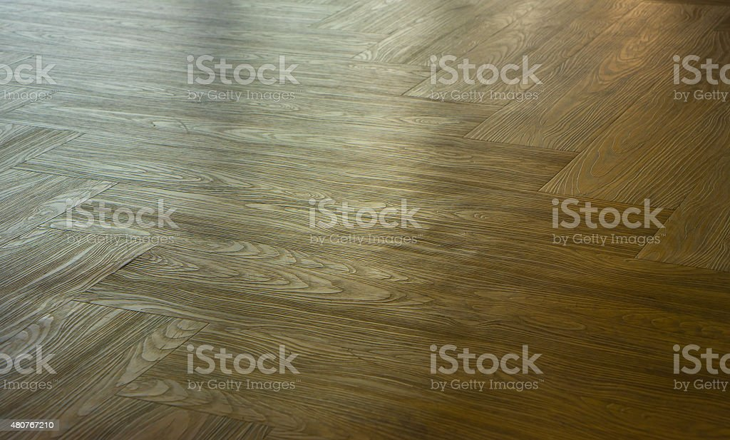 Perspective of Seamless wood laminate parquet floor texture background