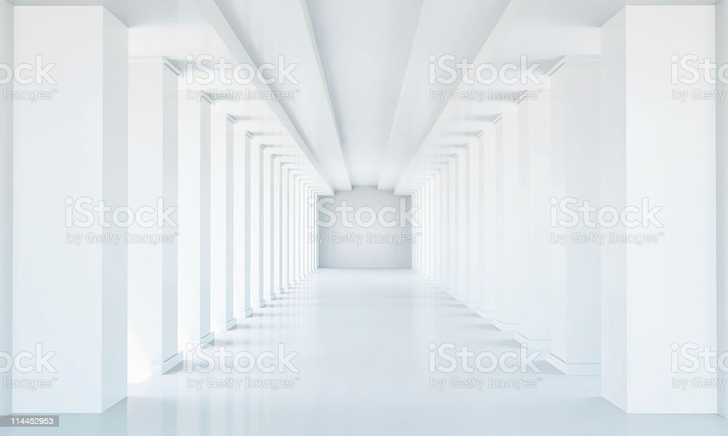 perspective tunnel stock photo