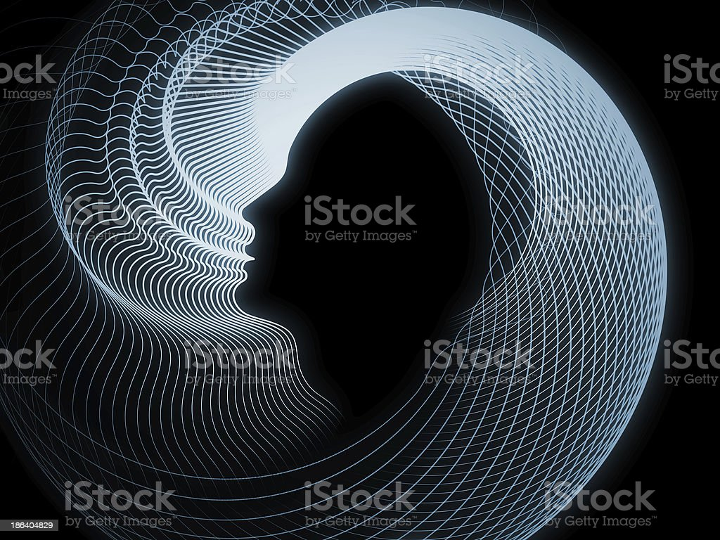 Perspectives of Soul Geometry stock photo