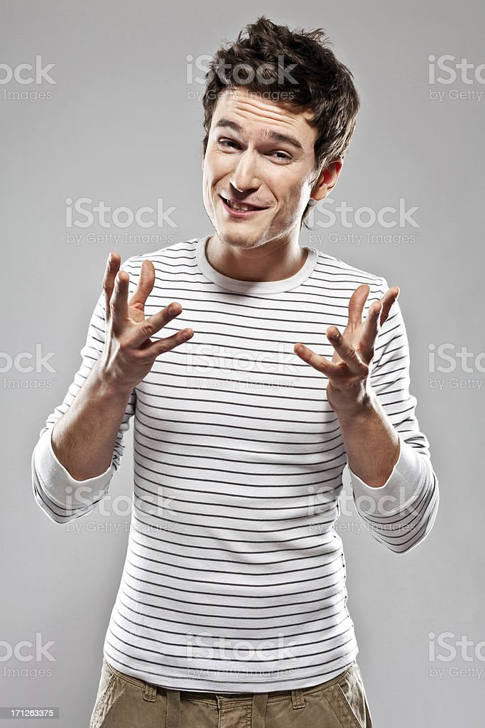 Persuasion stock photo