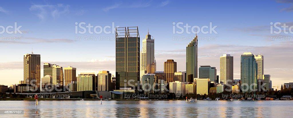 Perth at Dusk royalty-free stock photo