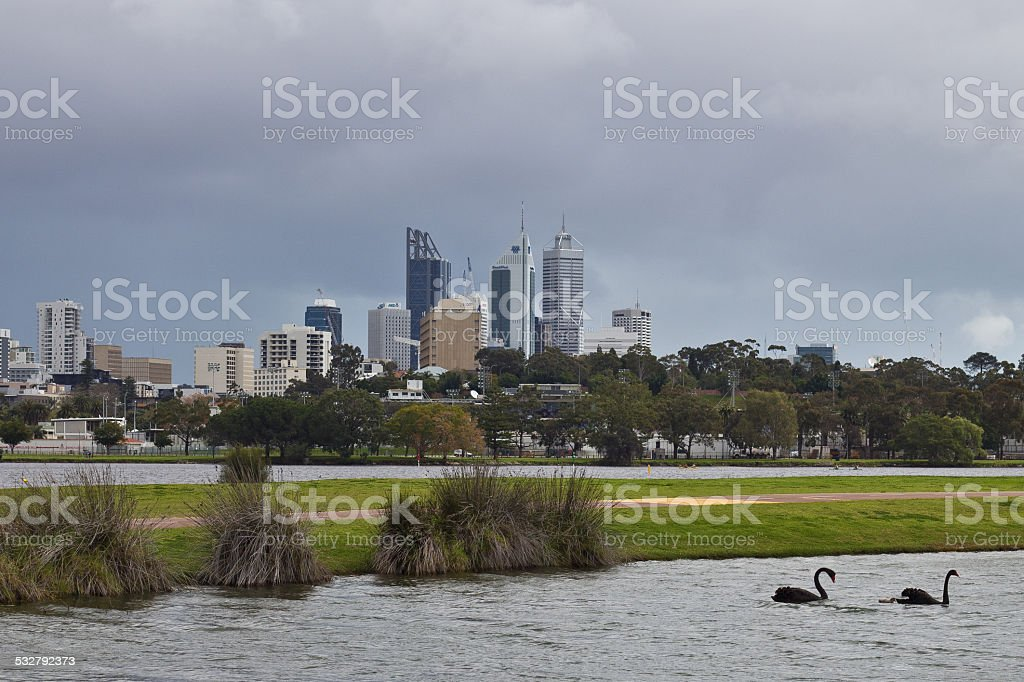 Perth City, Western Australia, Australia stock photo