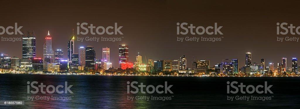 Perth Cityscape, panorama stock photo
