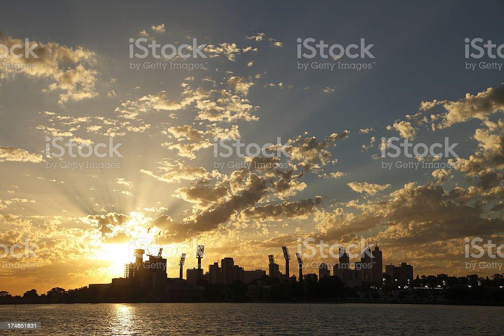 Perth Cityscape stock photo