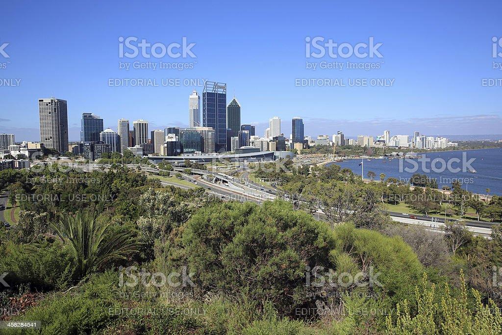 Perth royalty-free stock photo