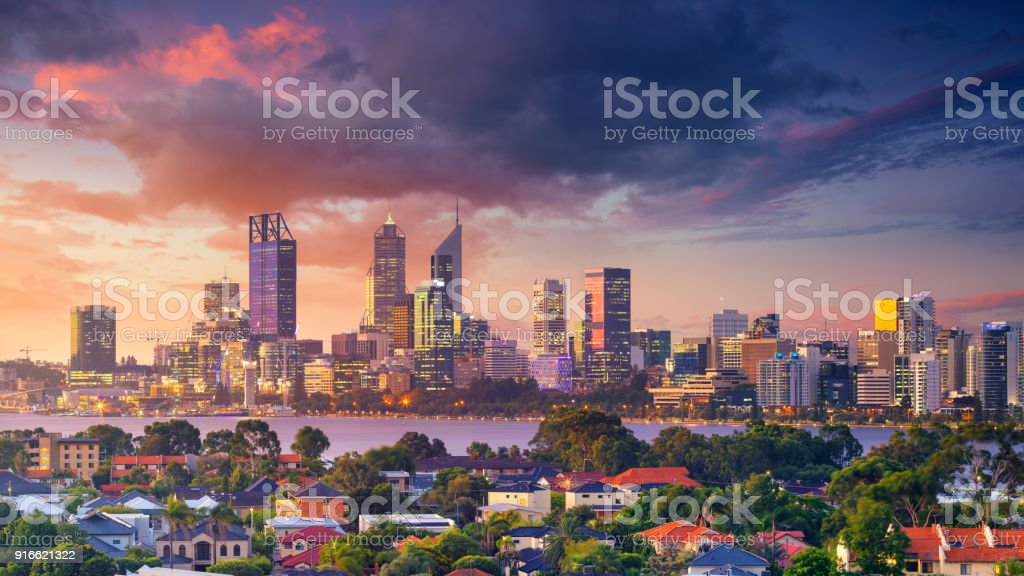 Perth. stock photo