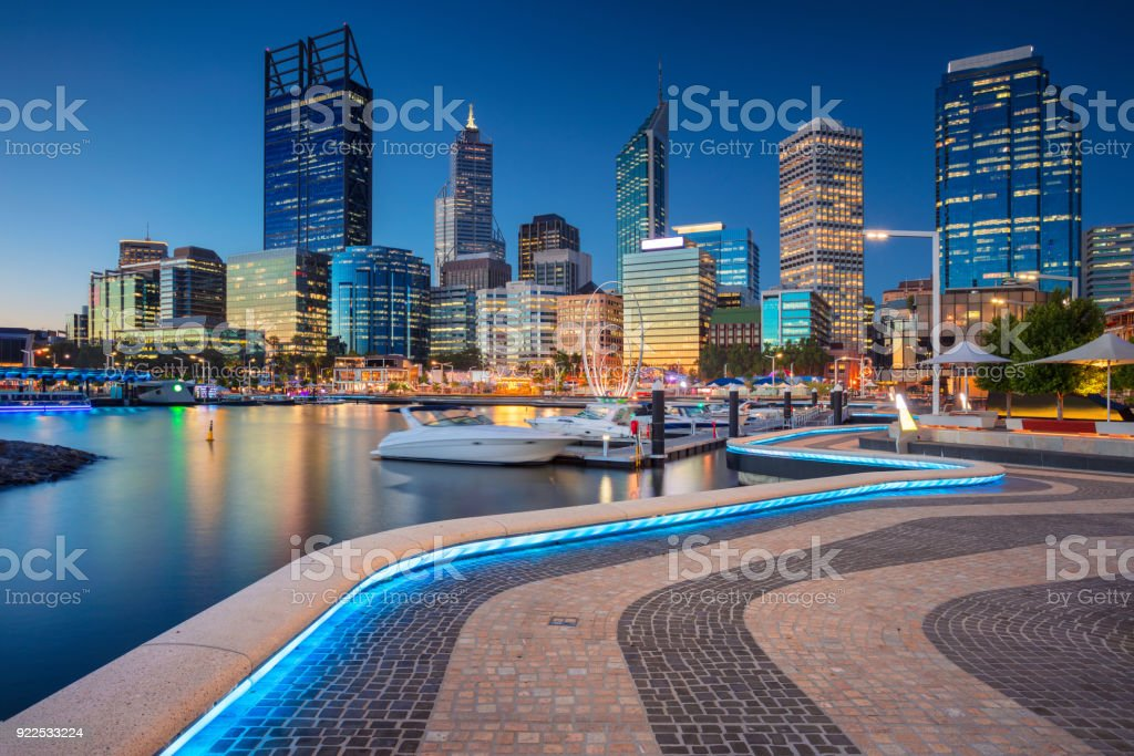 Perth. royalty-free stock photo
