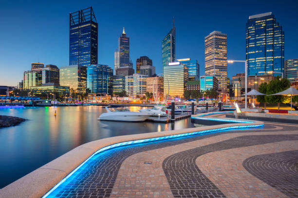perth. - western australia stock pictures, royalty-free photos & images
