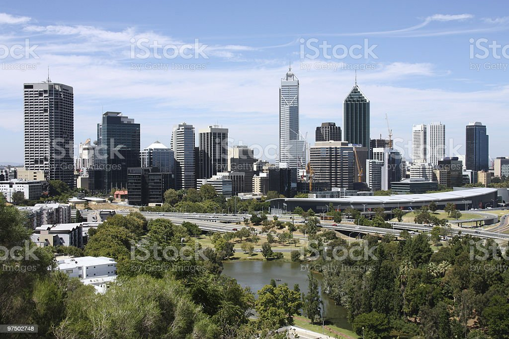 Perth royalty-free stock photo