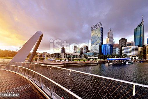 istock Perth Skyline, Western Australia 636080832