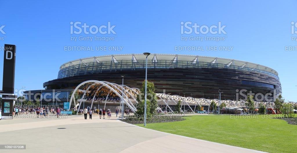 西オーストラリア州パース スタジアム ストックフォト