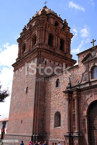 The Dominican Priory and Church of Santo Domingo, built on top of the impressive Qurikancha (Temple of the Sun), the most important temple in the Inca Empire. Cuzco was the capital of the empire, and the temple's walls and floors were once covered in gold.