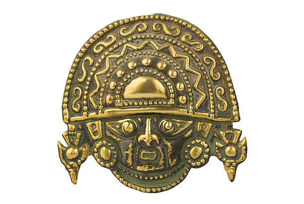 ペルーの伝統儀式用マスク - インカ ストックフォトと画像